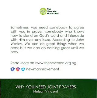 Why you need Joint Prayers