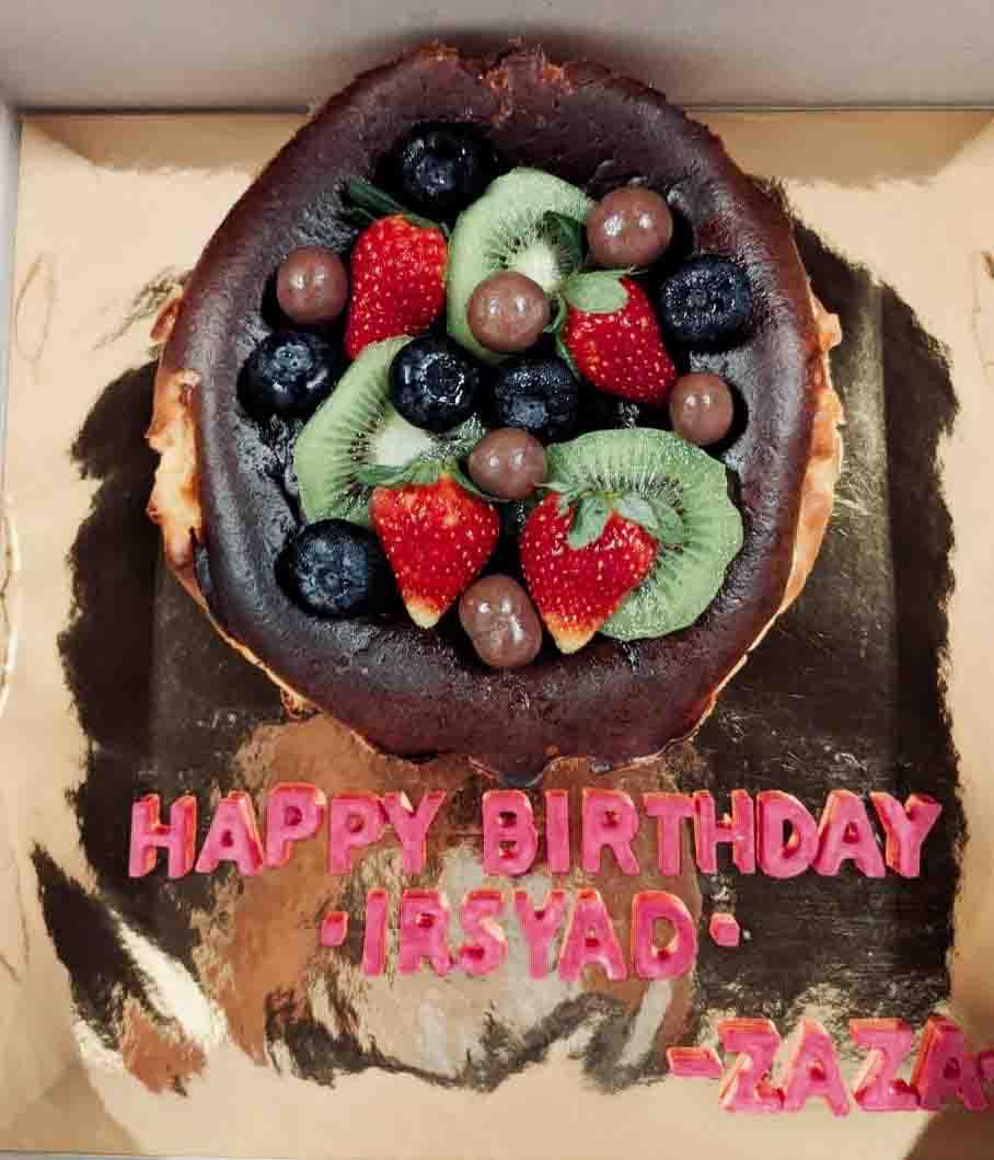 Order Burn Cheesecake Dekat Blogger Sally Samsaiman ( The Cakesion )