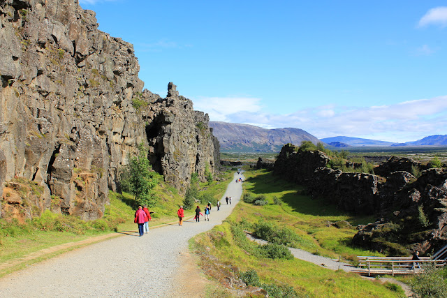 Falla Almannagjá de Þingvellir, la deriva continental
