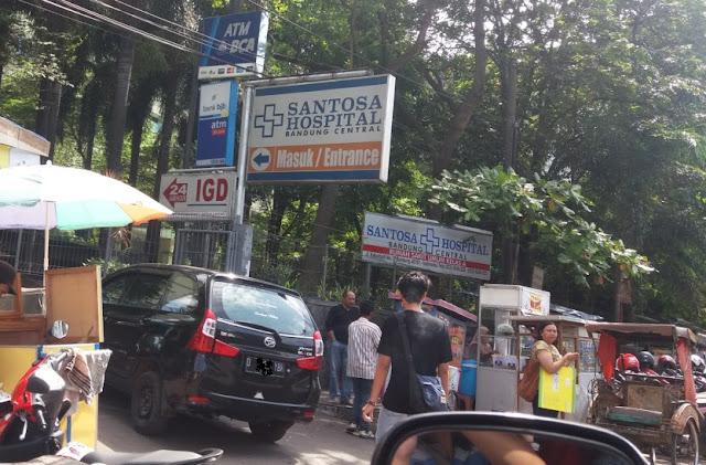 Rumah Sakit Santosa, jalan kebon jati, Bandung