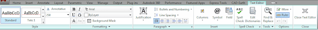 cara edit tulisan text di autocad