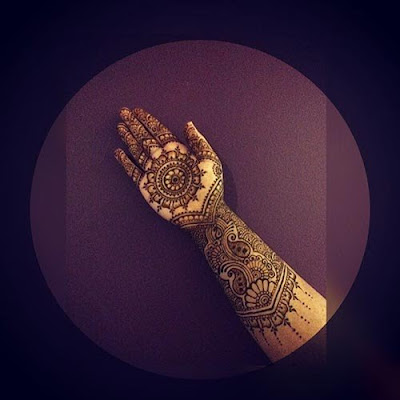 Mehendi Designs, Royal Architecture Bridal Mehendi