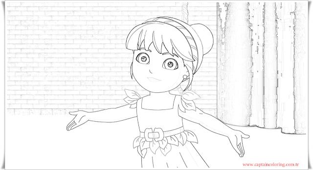 Dora coloring book-2