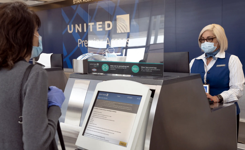 United Airlines to require health acknowledgment during check-in