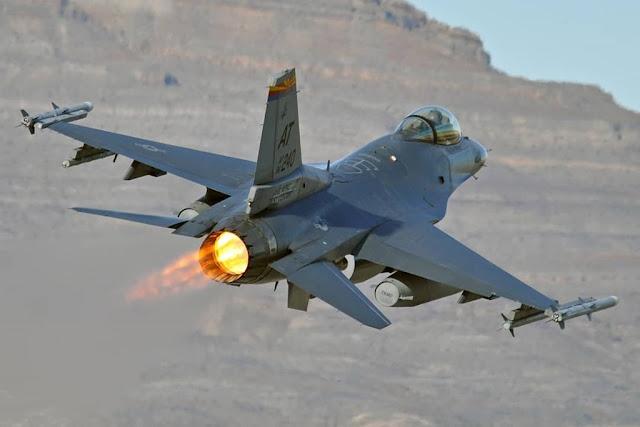 ANG F-16 test Leonardo BriteCloud