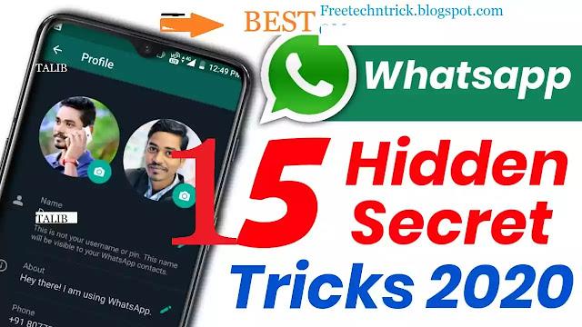 Latest 15 best WhatsApp tips&tricks in 2020-व्हाट्सएप्प की जानकारी हिंदी में