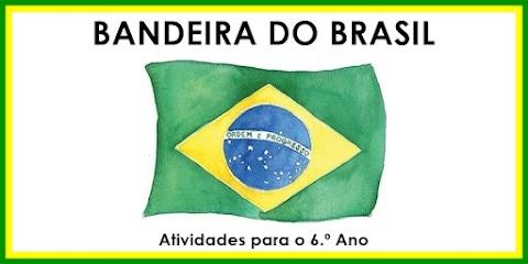 Bandeira do Brasil - Língua Portuguesa para o 6.º Ano
