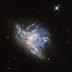 Birleşen İki Galaksi Görüntülendi