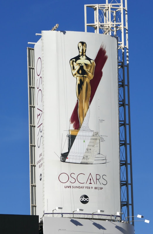 2020 Oscars billboard