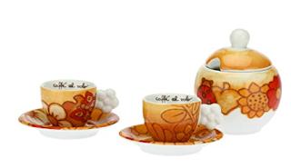 Lene Thun, THUN, Le Tezze di caffe Thun,  coffee set Thun, ชุดแก้วกาแฟ  Thun,  ของขวัญแบรนด์ดังอิตาลี, Diary On Tou