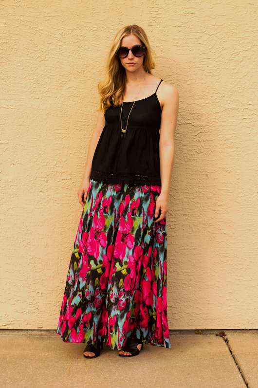 The Maxi From Frankly Basic | Fashion Column Twins