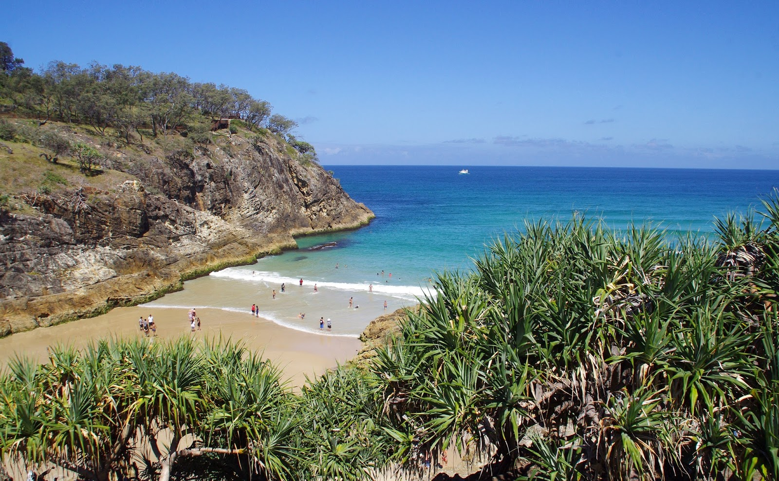 South Gorge Beach Stradbroke Island