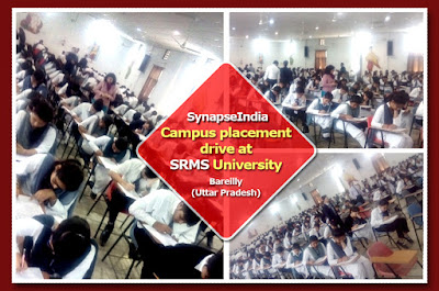 SynapseIndia Campus Placement Drive at SRMS