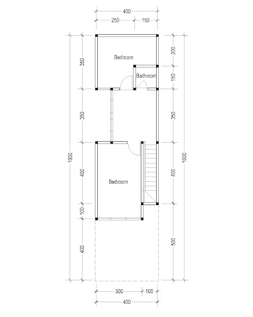 2nd Floor Plan for plan 27
