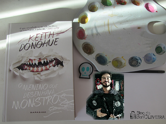 Livro O Menino Que Desenhava Monstros, de Keith Donohue