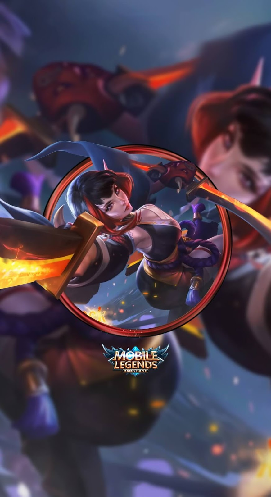 Wallpaper Karina Spider Lily Skin Mobile Legends HD for Mobile
