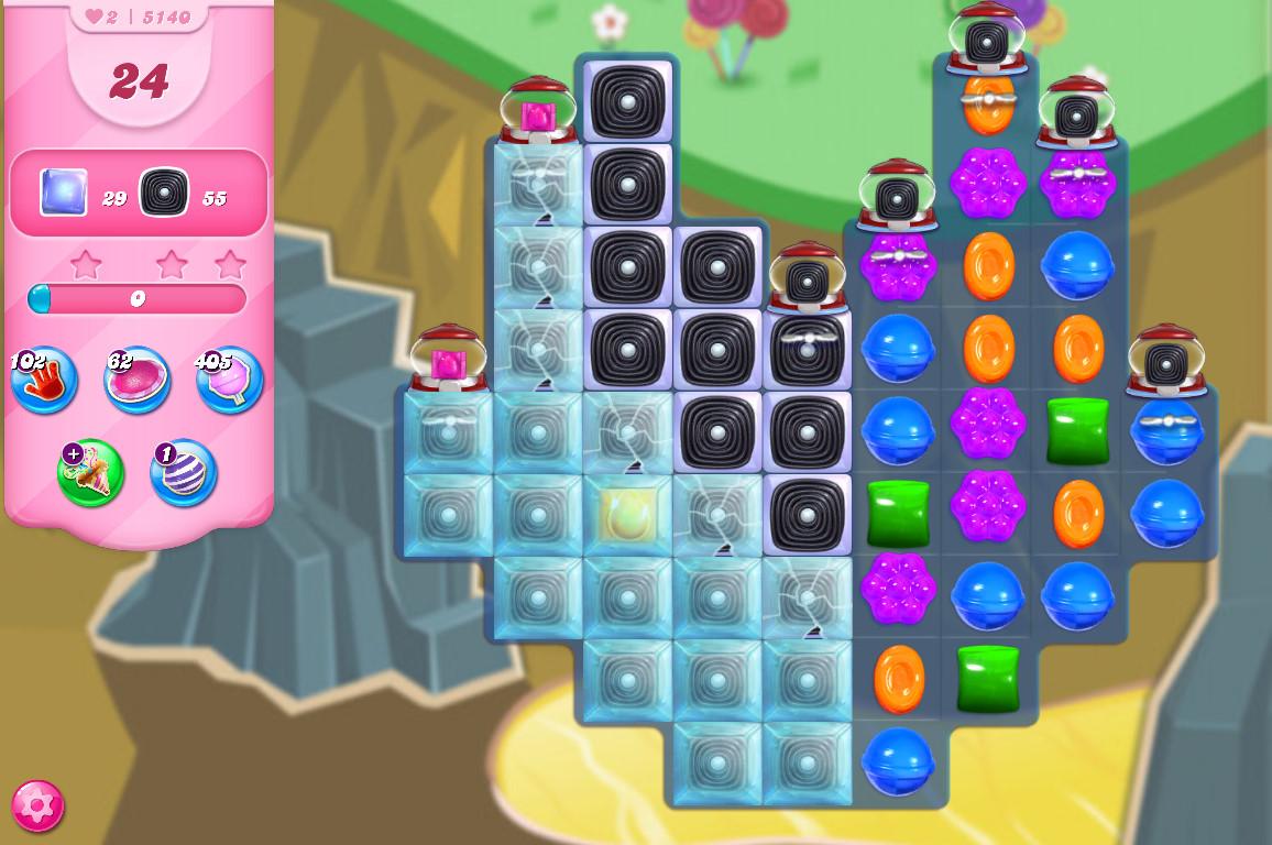 Candy Crush Saga level 5140