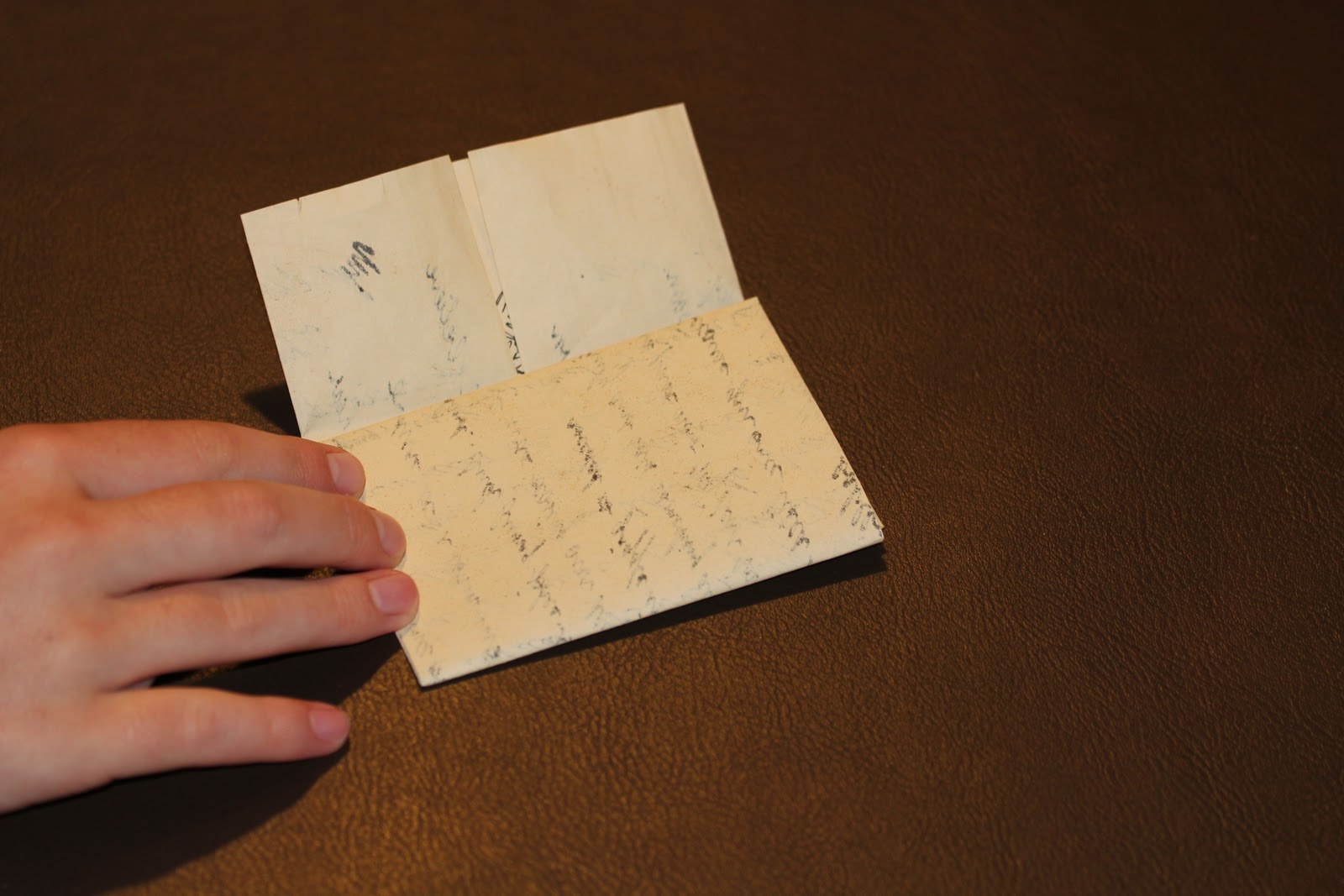 Toracellie Writing and Folding a Regency Style Letter