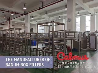 Factory Shot 2 of Bag-in-Box Filler Manufacturer - Calmus Machinery