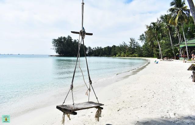 Playas de Tailandia limpiadas por resorts