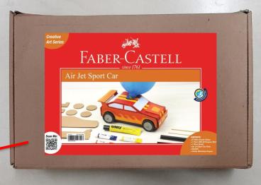 Air Jet Sport Car, Faber Castell