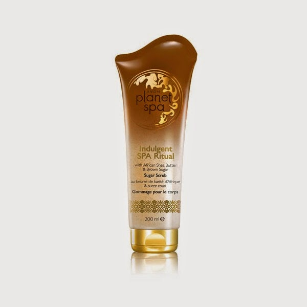 indulgent planet spa avon exfoliante