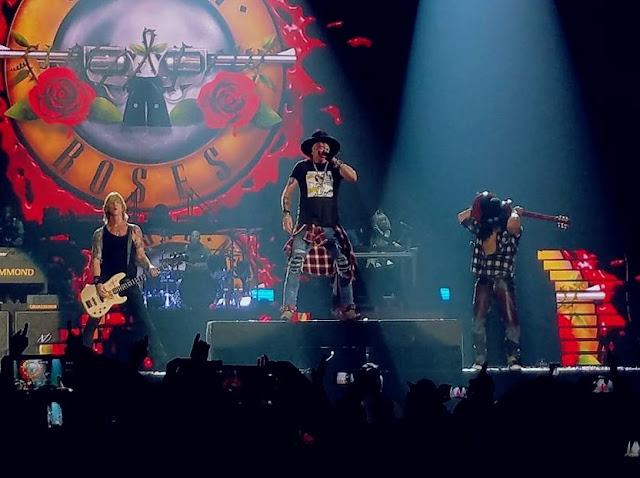 Guns N' Roses - Valley View Casino Center, San Diego, Califórina 28.11.2017