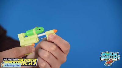 World smallest water blaster 2