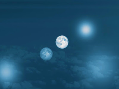 Una-luna-con-una-luna - Una Galaxia Maravillosa