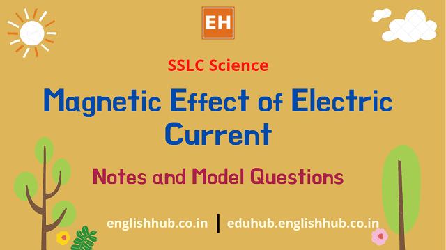 SSLC Science: Magnetic Effect of Electric Current
