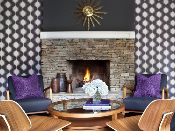 Desain Perapian Ruang Tamu Indah dan Unik
