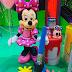 Festa de aniversário com a Minnie Pintando o Sete