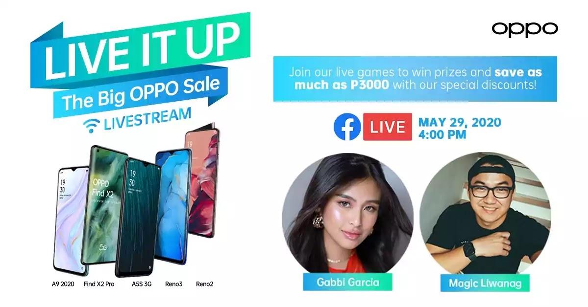ShOPPO Livestream With Gabbi Garcia and Magic Liwanag