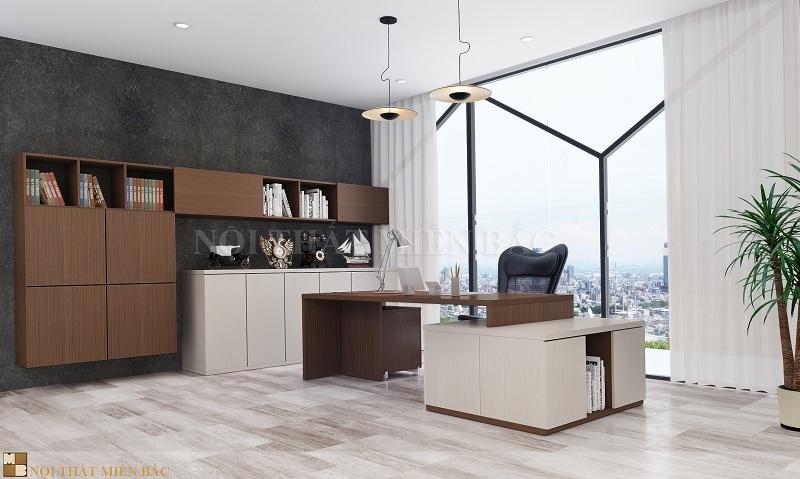 Thiết kế nội thất phòng giám đốc cao cấp có giá trị thẩm mỹ cao