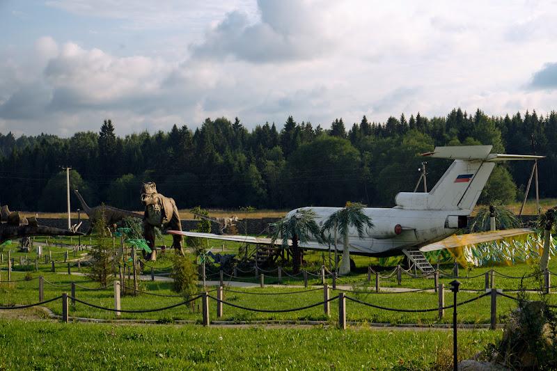 Як-40 среди динозавров