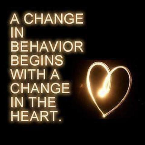 Change In Behaviour Quotes Be Willing To Change Your Behavior If