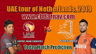 United Arab Emirates vs Netherlands 2nd T20 Match Prediction Today