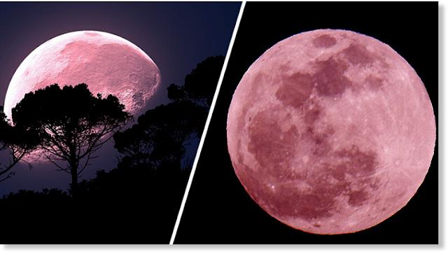 Το Σούπερ Ροζ Φεγγάρι έρχεται