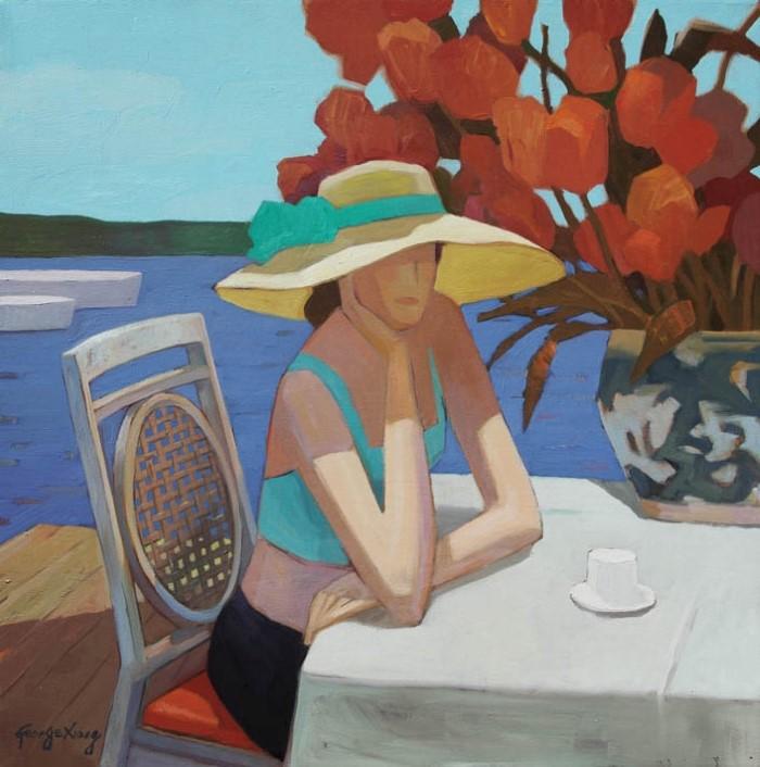 Китайский художник. George Xiong
