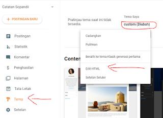 edit tag html