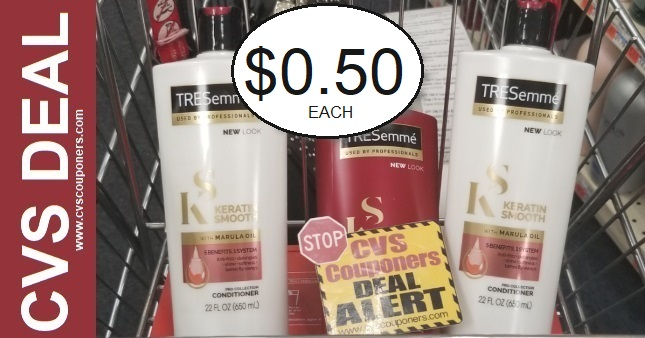 Tresemme Shampoo CVS Deal 10-18-10-24