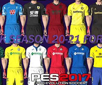 PES 2017 Kitpack Season 2020-2021 V19 AIO