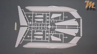 McDonnell Douglas DC 9 -32 NASA - 1/144 scale model Inbox review