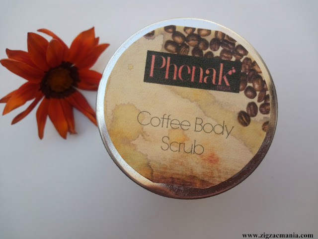 Phenak Coffee Body Scrub Review