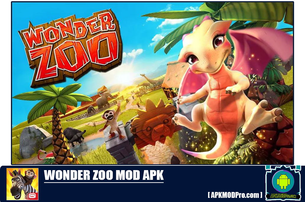 Wonder Zoo – Animal rescue! Mod Apk 2.0.1c [Unlimited Money] Terbaru 2020