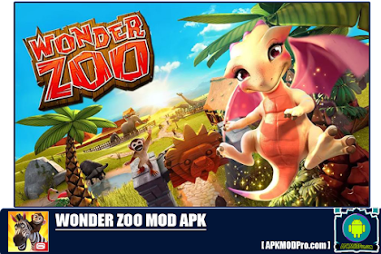 Wonder Zoo - Animal rescue! Mod Apk 2.0.1c [Unlimited Money] Terbaru 2020