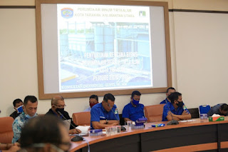 Rapat Paparan Rencana Bisnis Perumda Air Bersih Tirta Alam Kota Tarakan - Tarakan Info