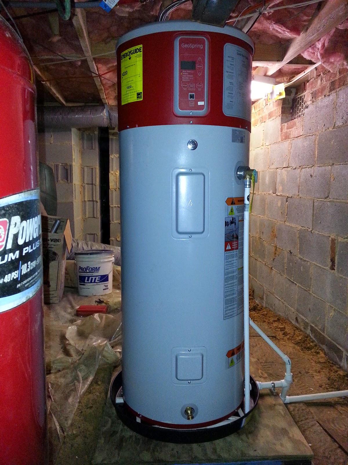 Ge Geospring Hybrid Heat Pump Water Heater