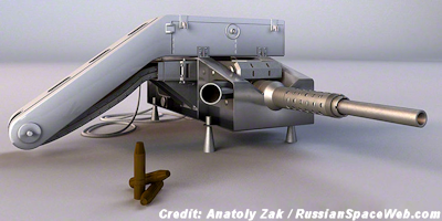 Soviet Union's Secret Space Cannon