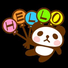 panda sticker / 01